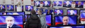 Vladimir Putin in televisione