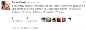 tweet Leucò