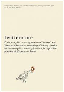 Twitterature cover