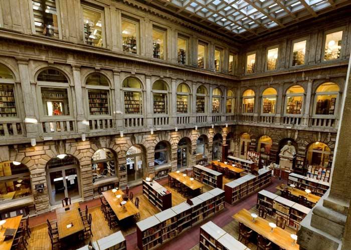 Interno della Biblioteca Nazionale Marciana di Venezia